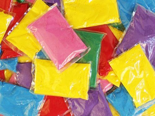 Bolsas saquitos colores Holi