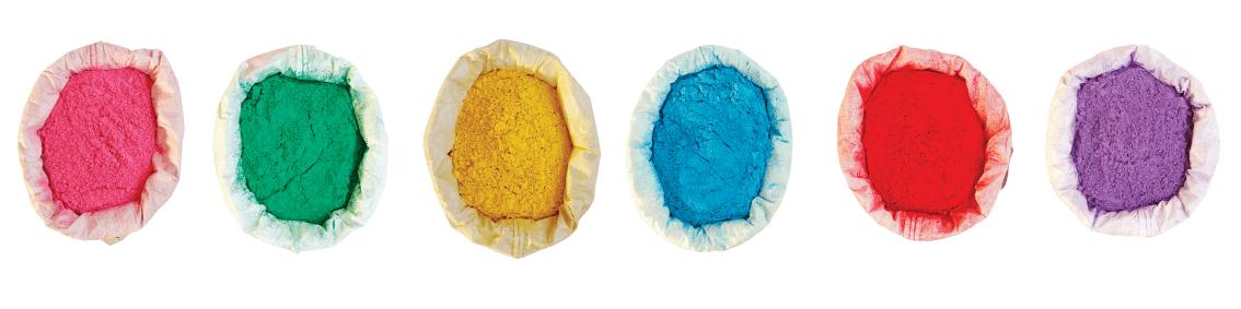 Bolsas Holi Polvos de Colores granel