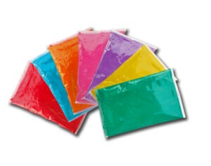 Cuánto Polvos Holi necesito para evento de color