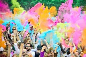 Organizar una Fiesta Holi o Festival Holi