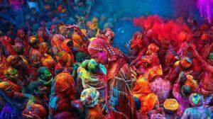 Festival de los Colores Holi India