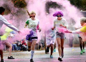 Color Run o carrera colores con fines benéficos