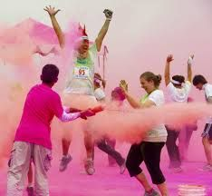 Botellas Holi Color Run